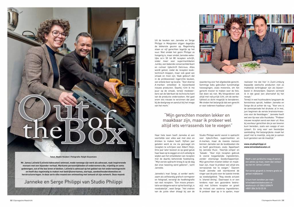 11-2019-Out of the Box | James Leliveld | Janneke en Serge Philippi