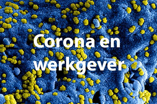 coronavirus en werkgever
